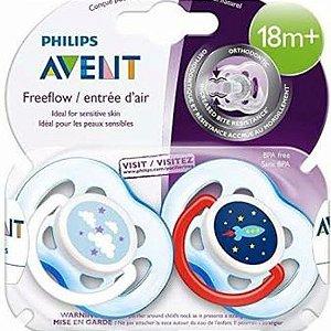 Chupeta Philips Avent 18m+