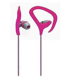 Fone De Ouvido Auricular Fitness Rosa Multilaser