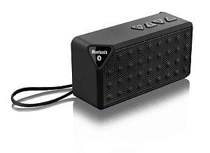 Caixa de Som Bluetooth Music 8W RMS Preto Multilaser