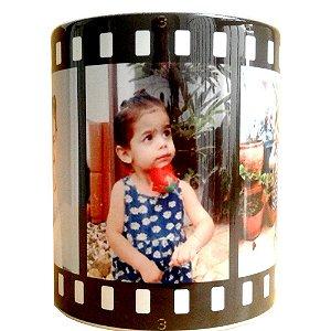 Caneca Personalizada com Foto Tira de Filme