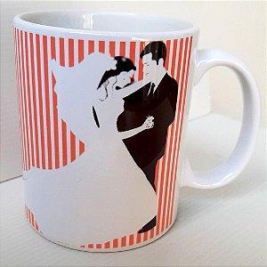 Caneca Personalizada Madrinha de Casamento Cerâmica 325 ml