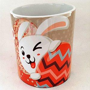 Caneca de Pascoa de Ceramica 325 ml
