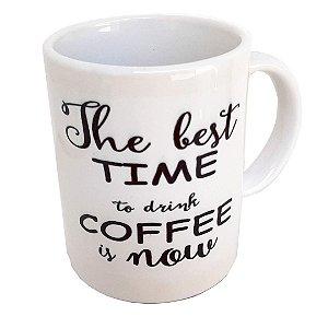 Caneca de Café em Cerâmica Branca 165 ml café 6 OZ