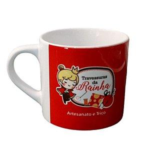 Xícara de Café Personalizada em Cerâmica Branca 165 ml café 6 OZ