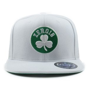 Boné Snapback Zero 18 Celtics Branco