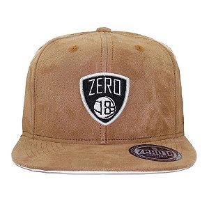 Boné Snapback Zero 18 Nets Caramelo
