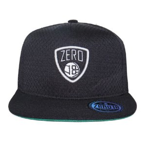 Boné Snapback Zero 18 Nets Preto