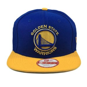 Boné New Era 950 Snapback Golden State Warriors Royal