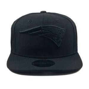 Boné New Era 950 Snapback New England Patriots Logo Black