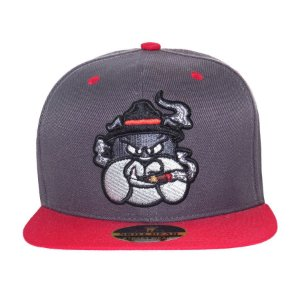 Boné Skill Head Snapback Bulldog Lead/Red