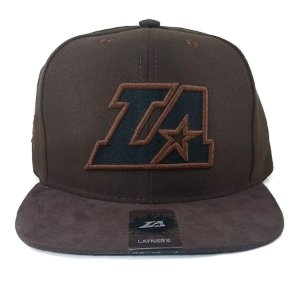 Boné Layners Snapback Los Angeles Marron