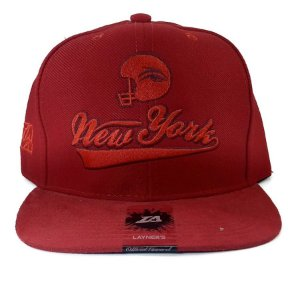 Boné Layners Snapback New York Red