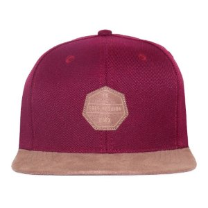 Boné Snapback Free Session BMX Bordo