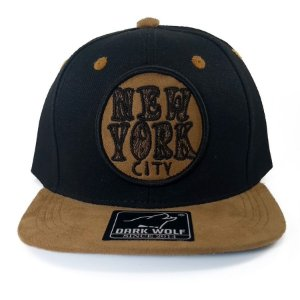 Boné  Dark Wolf Infantil Snapback New York City
