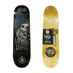Shape Wood Light Back To Bone Black 8.0