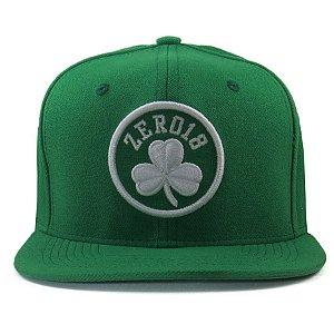 Boné  Zero18 Snapback Aba Reta Celtics