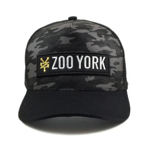 Boné Zoo York Aba Curva Snapback Camuflado