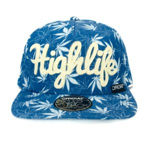 Boné Official Snapback Highlife Indigo