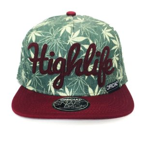 Boné Official Snapback Highlife Burg