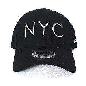 Boné New Era 940 Snapback Aba Curva NYC Preto