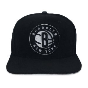 Bone 950 Snapback Brooklyn NY  Suede Shift Bronet Otc - PRETO