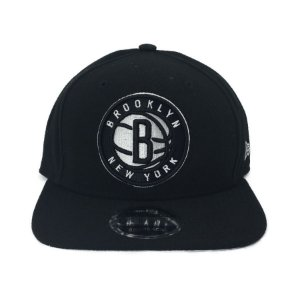 Bone New Era 950 Snapback Brooklyn NY  Primary Bronet Otc - PRETO