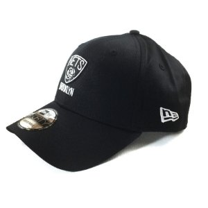 Boné New Era 940 Snapback Aba Curva Nets Brooklyn - PRETO