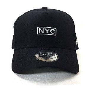 Boné New Era 940 Snapback Aba Curva NYC - MARINHO