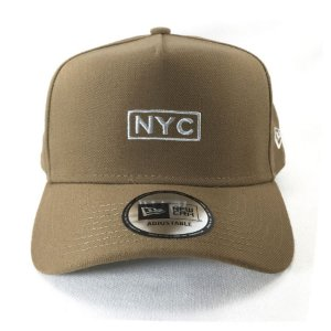 Boné New Era 940 Snapback Aba Curva NYC - KAKI
