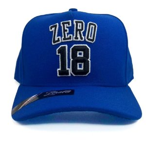 Boné Zero18 Snapback Azul Royal