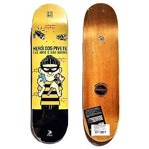 Shape de Skate Cisco Premium Heroi dos Pivete 8.0