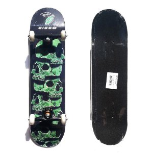 Skate Montado Profissional Cisco Skull Green 7.75