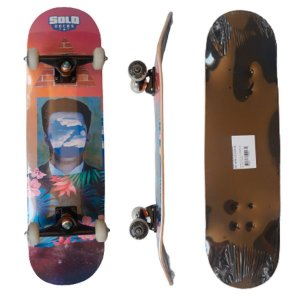 Skate Montado Profissional Solo Decks Colagem #2