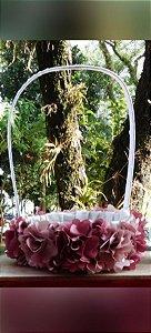 Cesta Para florista - Camélias