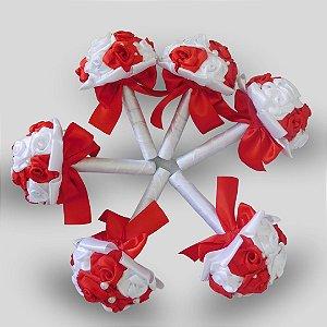 Buquê Rosinhas - Ideal Para Madrinhas/ Damas ou Ensaios