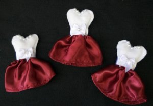 Mini Vestido Lembrancinhas para Madrinhas