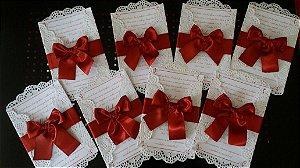 Convite de Casamento - Clássico