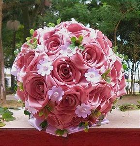 Buquê de Noiva - Rosê