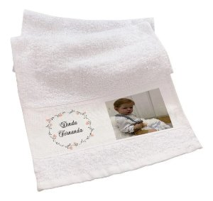 Toalha de Banho Personalizada
