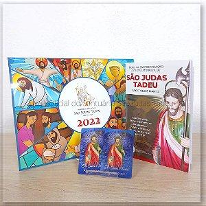 Kit Calendário e Novena São Judas