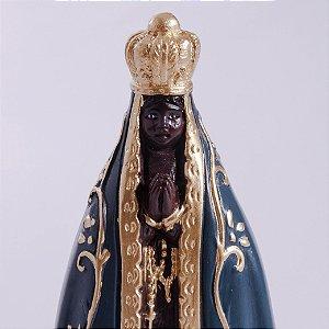 Imagem de Nossa Senhora Aparecida - Gesso 15cm