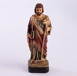 Imagem de São Judas Tadeu - Gesso - 20cm