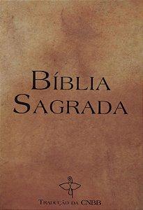 Bíblia Sagrada Tradução da CNBB - Capa de Cristal