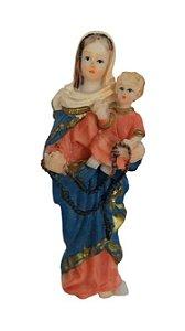 Imagem Nossa Senhora do Rosário (resina 10cm)