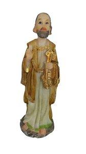 Imagem São Pedro (resina 10cm)