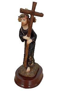 Imagem Nosso Senhor dos Passos (resina 10cm)