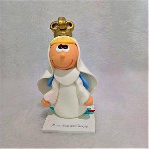 Imagem Nossa Senhora das Graças (Biscuit)