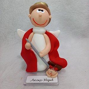 Imagem Arcanjo São Miguel (Biscuit)