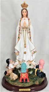 Imagem Nossa Senhora de Fátima 35cm