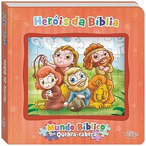 Heróis da Bíblia - Mundo Bíblico em Quebra Cabeça